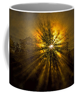 Coffee Mug featuring the photograph Sunburst by Marty Saccone