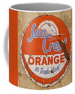 Suncrest Orange Soda Cap Sign Coffee Mug