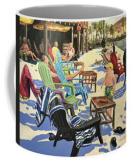 Sunday At The Yacht Club Coffee Mug