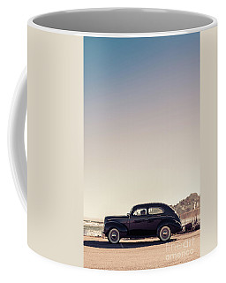 Sunday Drive To The Beach Coffee Mug by Edward Fielding