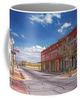 Sunday In Brenham, Texas Coffee Mug