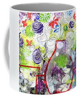Sunday Market Flowers 3- Art By Linda Woods Coffee Mug