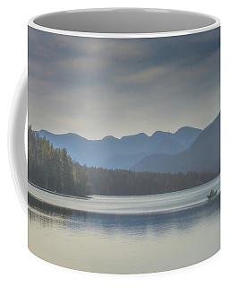 Coffee Mug featuring the photograph Sunday Morning Fishing by Chris Lord
