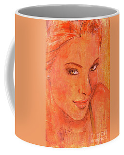 Coffee Mug featuring the painting Sunday by P J Lewis