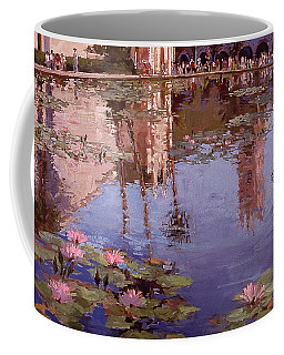 Sunday Reflections - Water Lilies Coffee Mug