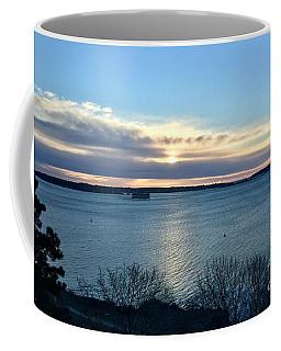 Sunday Sunrise On Casco Bay Coffee Mug