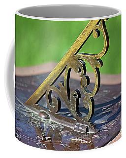 Sundial In The Garden Coffee Mug