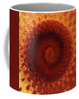 Coffee Mug featuring the painting Sundial by Mark Taylor