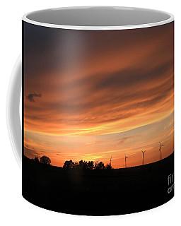 Sundown And Silhouettes Coffee Mug
