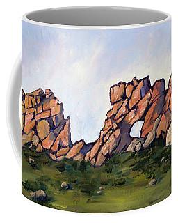 Sundown At The Backbone Coffee Mug