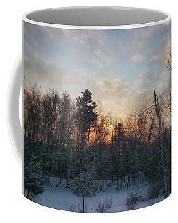 Sundown Winter New England Coffee Mug