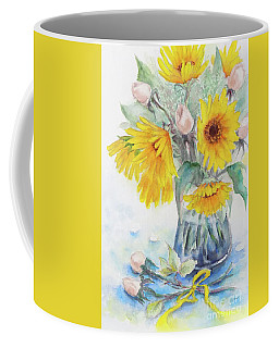 Sunflower-4 Coffee Mug