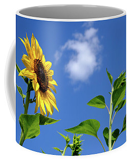 Sunflower And Friend Coffee Mug