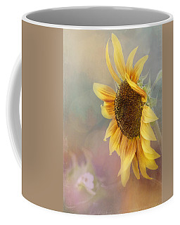 Sunflower Art - Be The Sunflower Coffee Mug