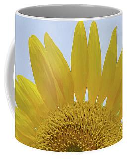 Sunflower Art Top Coffee Mug