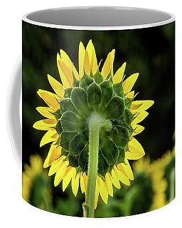 Sunflower Back Coffee Mug