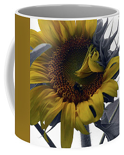 Sunflower Bee Coffee Mug