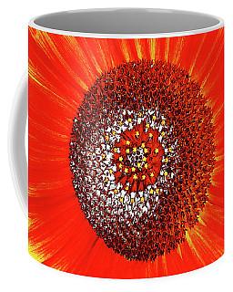 Sunflower Close Coffee Mug