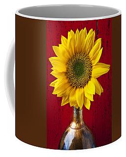 Sunflower Close Up Coffee Mug