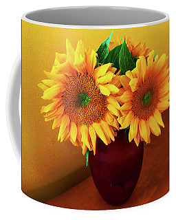 Sunflower Corner Coffee Mug