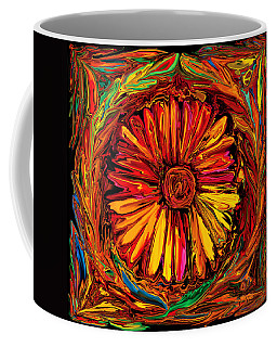 Sunflower Emblem Coffee Mug by Rabi Khan