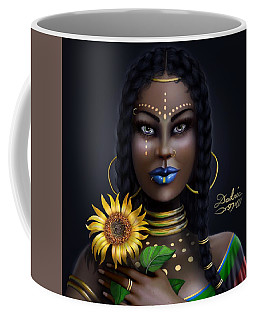 Sunflower Goddess  Coffee Mug
