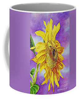 Sunflower Gold Coffee Mug