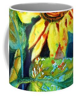 Sunflower Head 4 Coffee Mug
