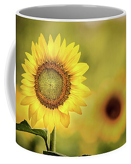 Sunflower In A Field Coffee Mug