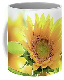 Sunflower In Golden Glow Coffee Mug