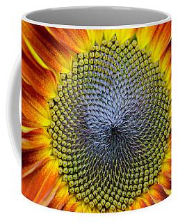 Sunflower Mendala Coffee Mug