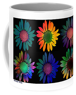 Sunflower Moods Coffee Mug by David Pantuso
