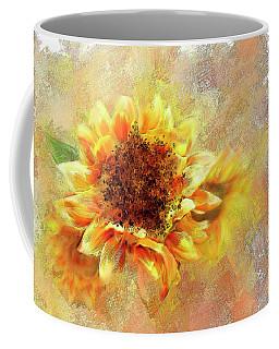 Sunflower On Fire Coffee Mug