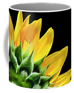 Coffee Mug featuring the photograph Sunflower Petals by Christina Rollo