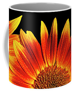 Sunflower Raindrops Coffee Mug