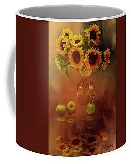 Sunflower Reflections Coffee Mug