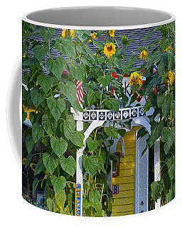 Coffee Mug featuring the photograph Sunflower Roads by SimplyCMB