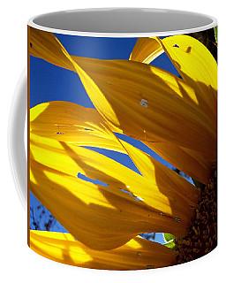 Sunflower Shadows Coffee Mug