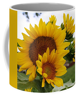 Coffee Mug featuring the photograph Sunflower Show by Bruce Bley