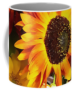 Sunflower Strong Coffee Mug by Kathy Bassett