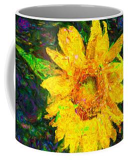 Sunflower Van Gogh Coffee Mug