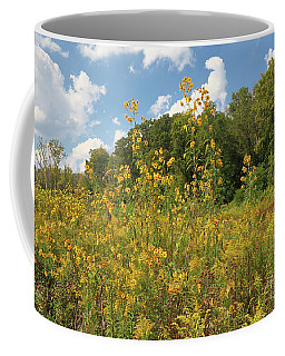 Sunflowers And Goldenrod Coffee Mug