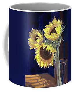 Sunflowers And Light Coffee Mug