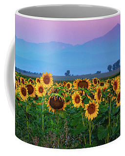 Sunflowers At Dawn Coffee Mug