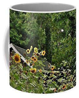 Sunflowers At The Good Earth Market Coffee Mug