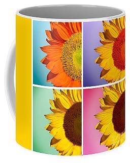 Sunflowers Collage Coffee Mug