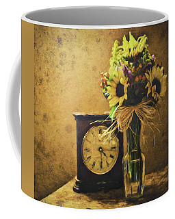 Sunflowers Floral Still Life 3 Coffee Mug