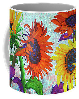 Sunflowers For Elise Coffee Mug