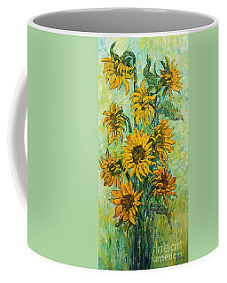 Sunflowers For This Summer Coffee Mug
