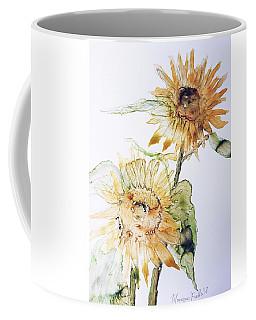 Sunflowers II Uncropped Coffee Mug